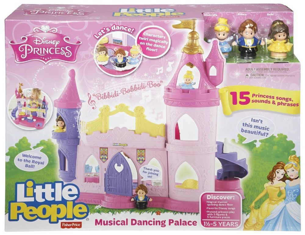 Fisher Price Little People Disney Princess Musical Dancing